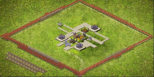 Wolf Castle 1 Attack Setup