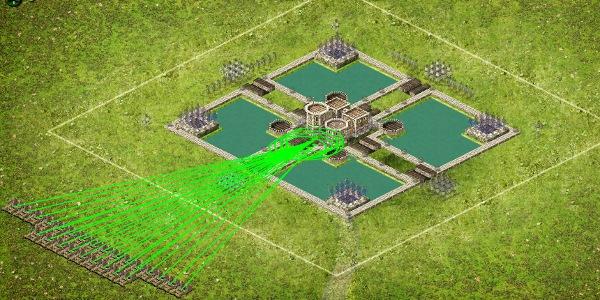 Wolf Castle 4 Setup Catapults