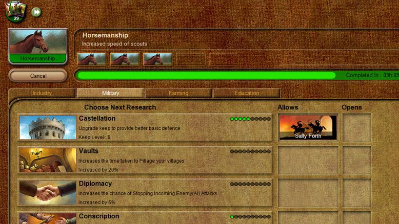 stronghold kingdoms ranks